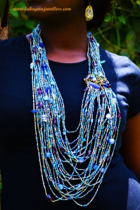 Blue Masai Necklace